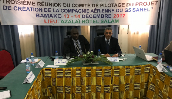 The Third Meeting For Establishing The Five Sahel Coast Airlines G5