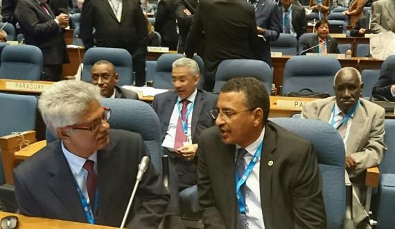 Réunion de l'Assemblée Générale de l'OACI